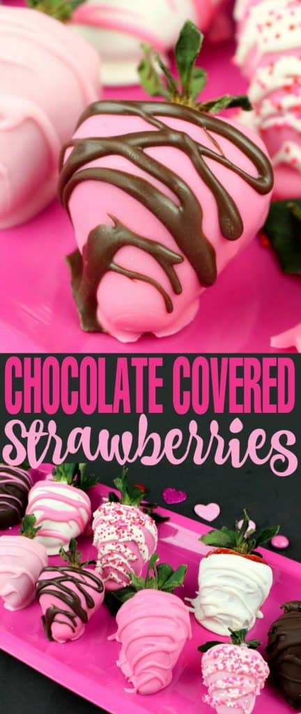 Chocolate Covered Strawberries by Live Love Liz | Valentine's Day is perfect for sweet treats. Check out these 7 easy Valentine's Day Desserts.  You'll get easy dessert recipes that you can make for your loved ones on Valentine's Day.  Valentine's day dessert recipes are festive and can be super easy. #ValentinesDayDesserts #ValentinesDay #desserts #dessertgifts #HWS #healthywealthyskinny