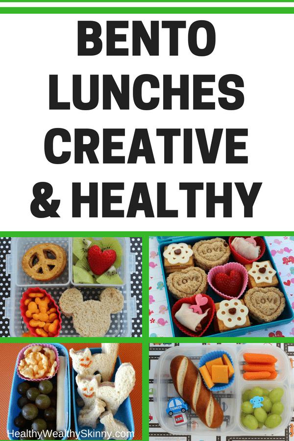 Bento Lunches Creative & Healthy