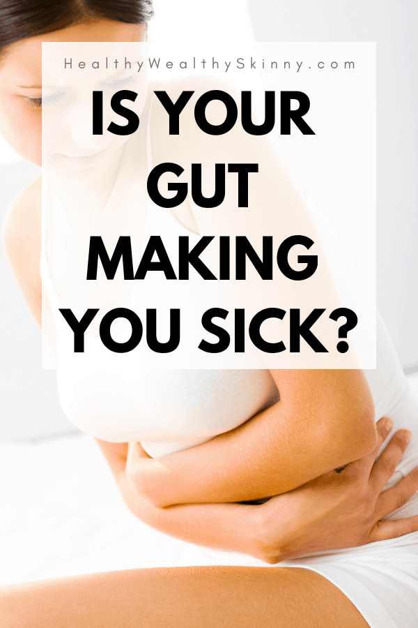 It is not hard to see the signs your gut health is bad. Your Gut Health is essential to the health of your entire body. Find out how long it takes for your gut to heal and foods that promote healthy gut flora. You can heal your gut naturally. #guthealth #HWS #healthywealthyskinny