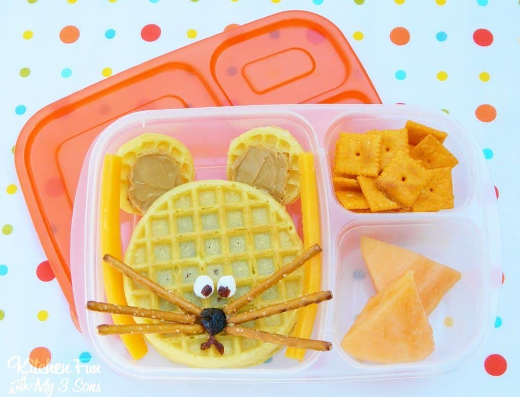 Bento Lunches - Mouse Bento Lunch Idea by Kitchen Fun With My 3 Sons