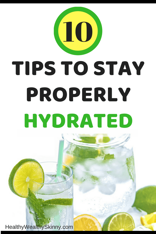 Tips to Stay Properly Hydrated