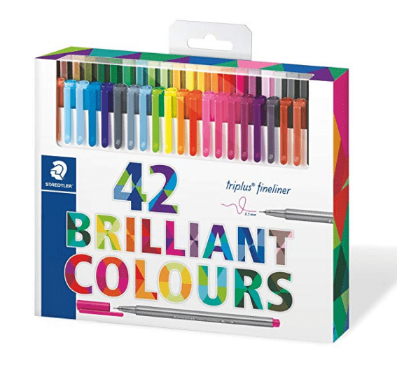 Bullet Journal Supplies - 42 Assorted Colored Pens