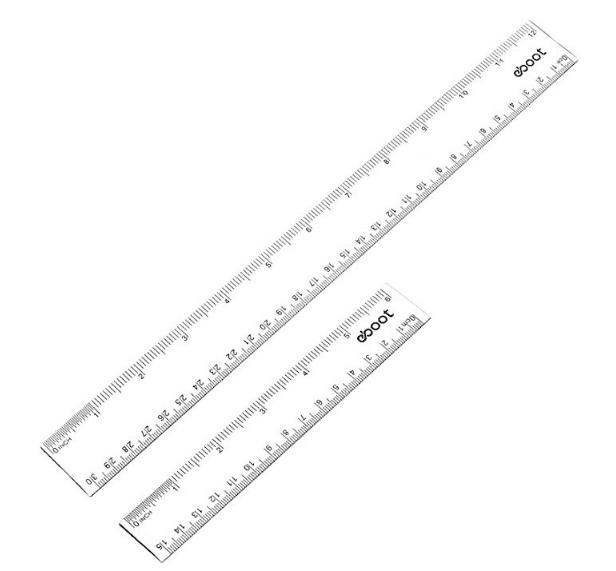 Bullet Journal Supplies - Rulers