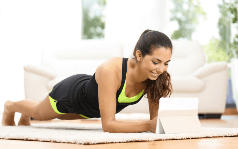 home exercise program