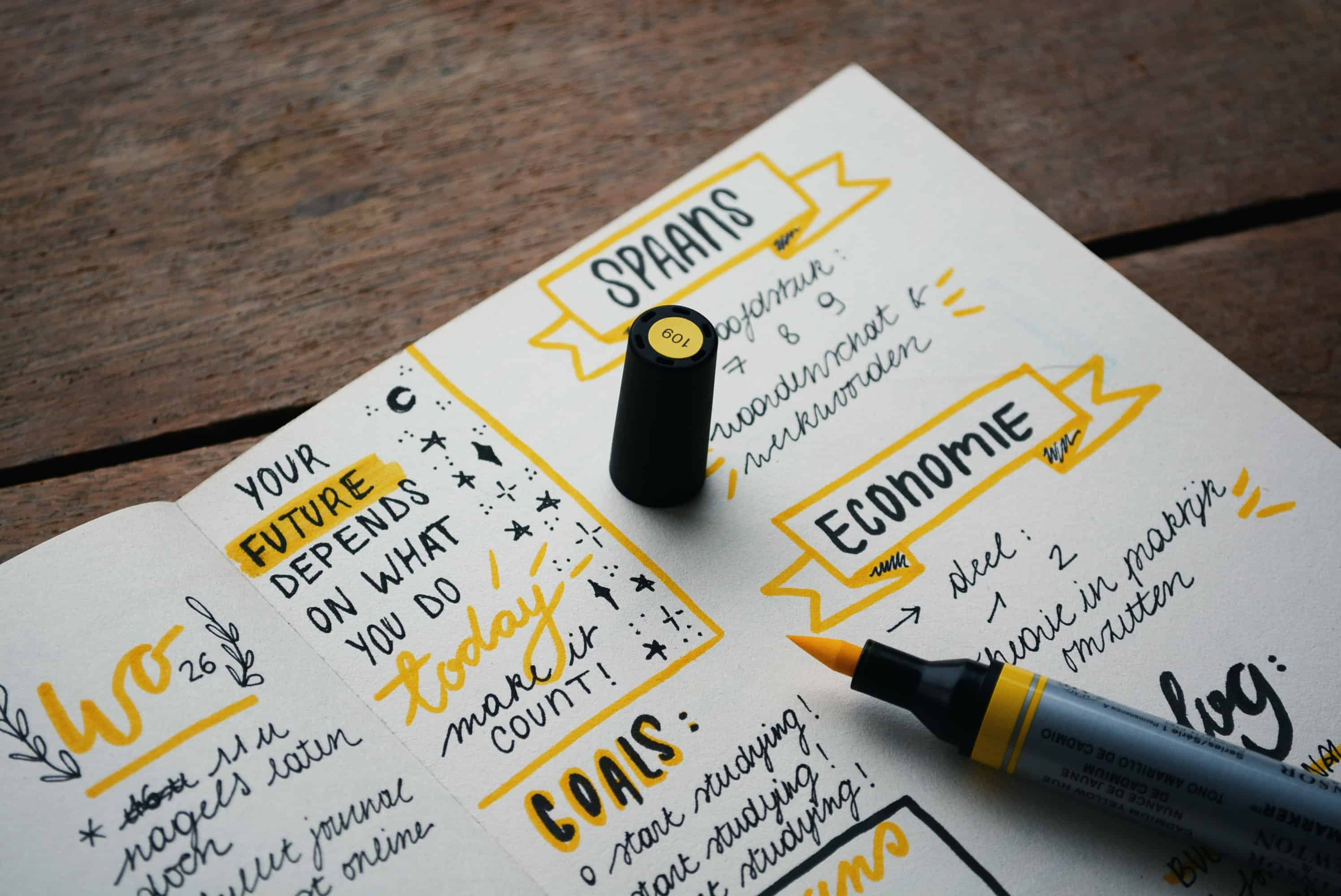 Cope with Anxiety by Creating a Self-Care Routine - Start a Bullet Journal