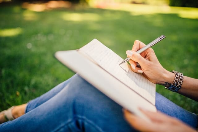 Cope with Anxiety by Creating a Self-Care Routine - Journaling