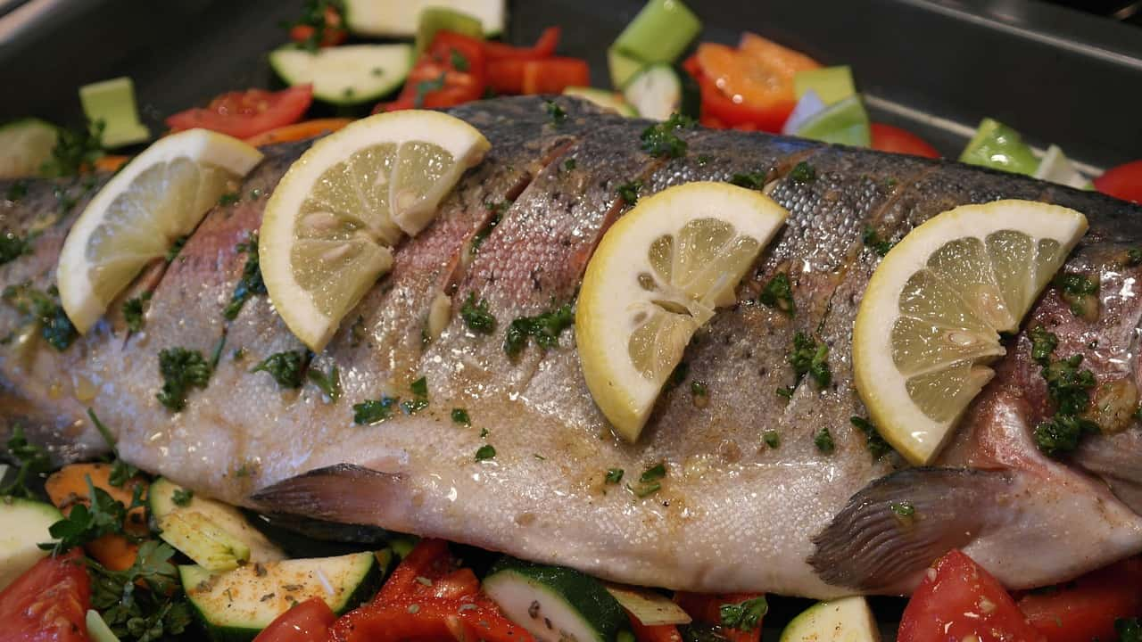 Foods that start with t - Trout