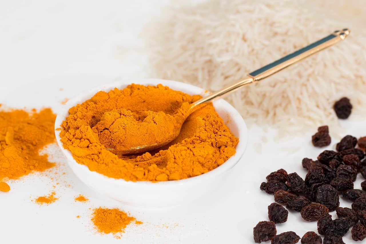 Foods that start with t - Turmeric