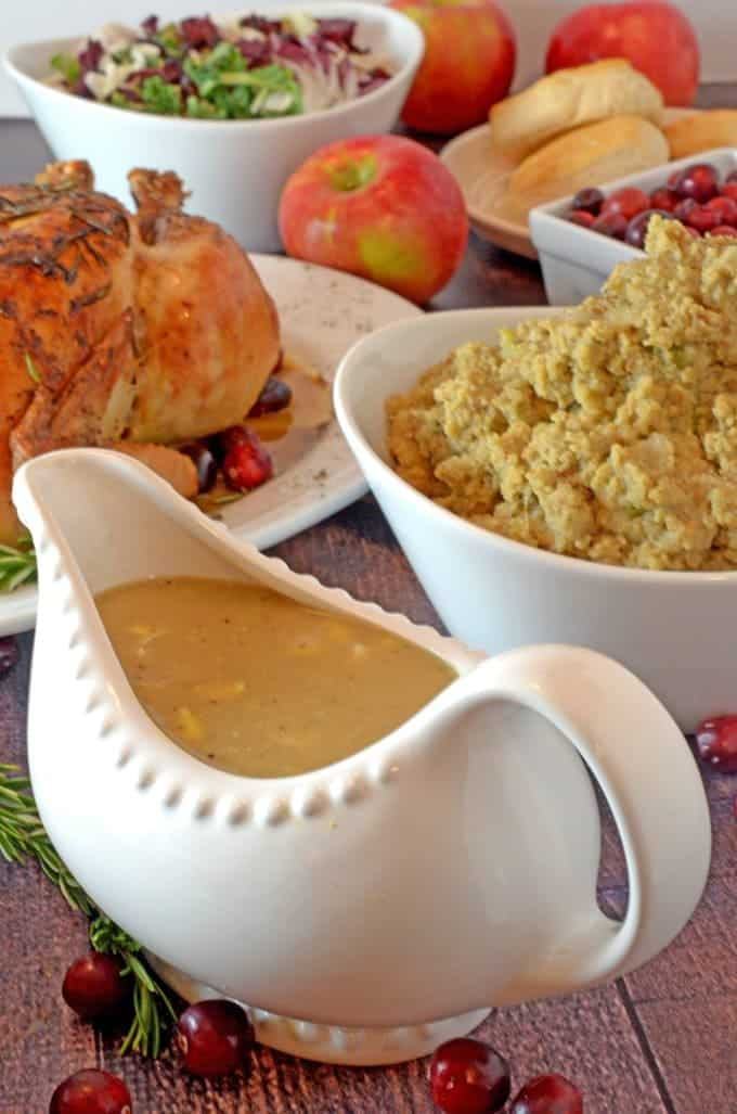 Great Twists to Traditional Christmas Dinner - Southern Giblet Gravy by Platter Talk