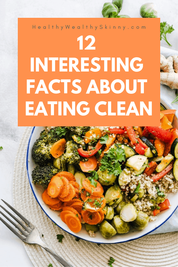 Ready for some interesting facts about eating clean? I'm sure you've wondered... can changing your diet make you feel better. Once you start eating clean you will notice immediate changes to your body. Clean eating benefits your skin and many other parts of your body. #cleaneating #eatingclean #HWS #healthywealthyskinny