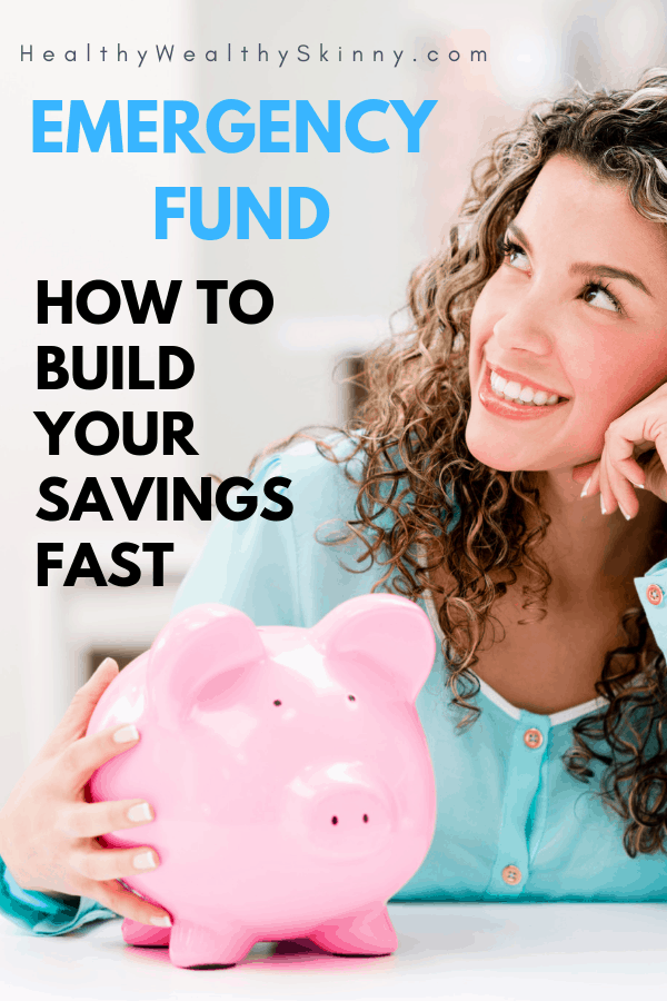 Savings vs emergency fund? What 's the difference and how to build your savings fast.  If you are managing your personal finances these are questions you may have asked yourself. Including where to park emergency fund and should you use high yield liquid accounts. Find out the basics of setting up your emergency fund fast. #emergencyfund #howtobuildsavingsfast #wheretoparkemergancyfund #highyieldliquidaccounts #HWS #healthywealthyskinny