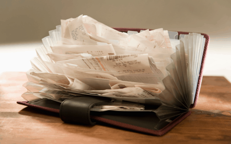 Ways to Stay Organized for Tax Season - Way to Organize Receipts Electronically