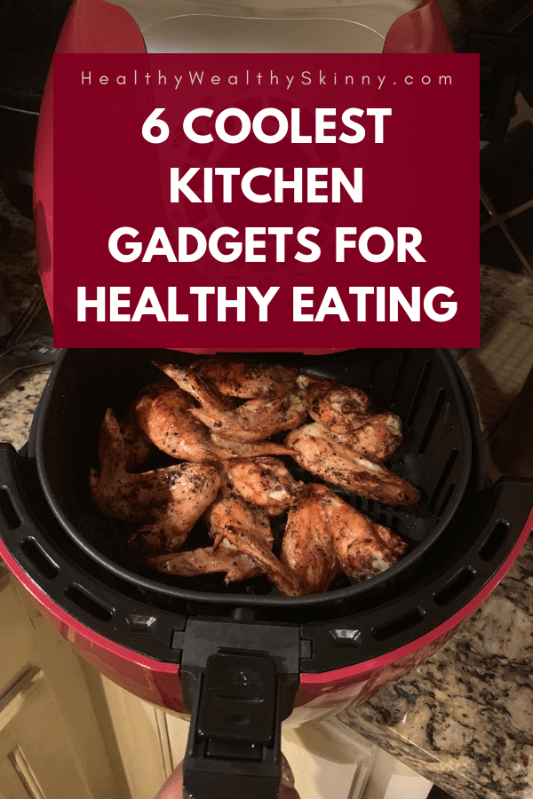 Healthy Eating | Eating healthy takes more then just knowing which foods to eat. You have to have practical ways of making healthy meals that work with your schedule. You can eat both fast and healthy by using a select few kitchen gadgets. Check out these Must-Have Kitchen gadgets for fast and healthy eating #healthyeating #fasthealthyeating #kitchengadgets #cleaneating #howtoeathealthyfast #healthywealthyskinny #HWS