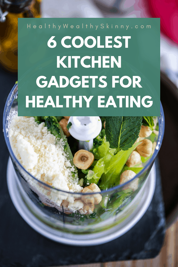 Kitchen Gadgets | Eating healthy takes more than just knowing which foods to eat. You have to have practical ways of making healthy meals that work with your schedule. You can eat both fast and healthy by using a select few kitchen gadgets. Check out these Must-Have Kitchen gadgets for fast and healthy eating #healthyeating #fasthealthyeating #kitchengadgets #cleaneating #howtoeathealthyfast #healthywealthyskinny #HWS