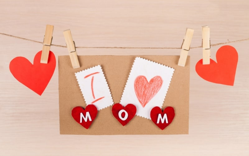 What Moms Really Want on Mother's Day - Handmade Gifts