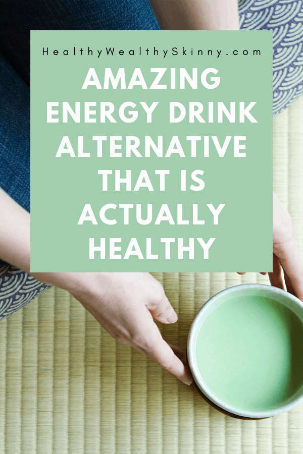 Green Tea |Have you wondered what to drink instead of Red Bull? Are you trying to cut down on coffee or soda? Find out an amazing energy drink alternative that is actually healthy.  This one drink will give you energy and provide you with multiple health benefits. #energydrinks #energydrinkalternative #greentea #matcha #matchagreentea #healthydrinks #HWS #healthywealthyskinny