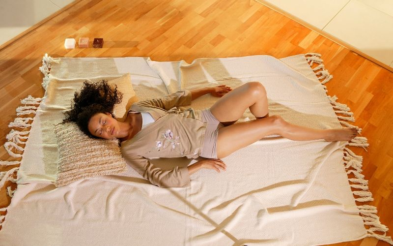 Benefits of Sleeping on the Floor - Better Quality of Sleep