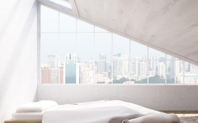 Futon mattress for sleeping on the floor