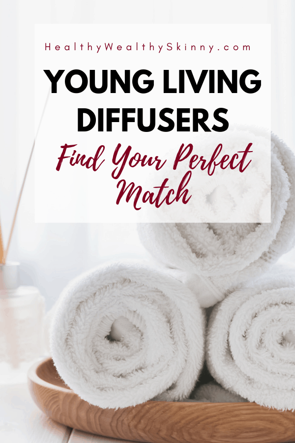 There is a Young Living Diffuser to meet your exact style, decor, and needs. Discover the Young Living diffuser options and find your perfect match. Also get a listing of the best smelling essential oils for diffusers. #youngliving #younglivingdiffuser #essentialoils #essentialoilsdiffuser #diffuser #HWS #healthywealthyskinny