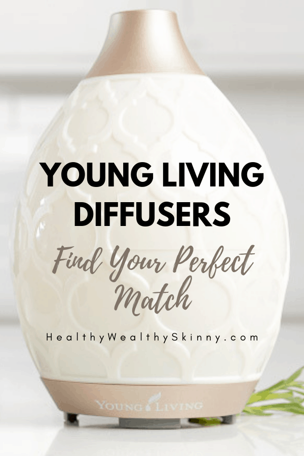 Young Living Diffuser | There is a Young Living Diffuser to meet your exact style, decor, and needs. Discover the Young Living diffuser options and find your perfect match. Also get a listing of the best smelling essential oils for diffusers. #youngliving #younglivingdiffuser #essentialoils #essentialoilsdiffuser #diffuser #HWS #healthywealthyskinny
