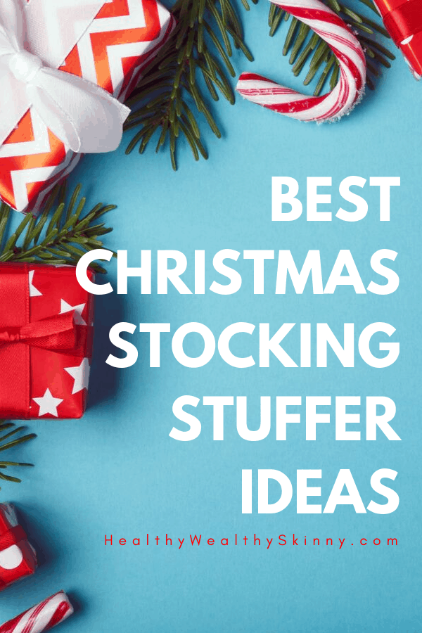Stocking Stuffer Ideas - Stocking stuffers for women, Stocking Stuffers for Men, Stocking Stuffers for kids, stocking stuffers for her, stocking stuffers for him, Christmas gift ideas for family #stockingstuffers #Christmasgifts #HWS #healthywealthyskinny