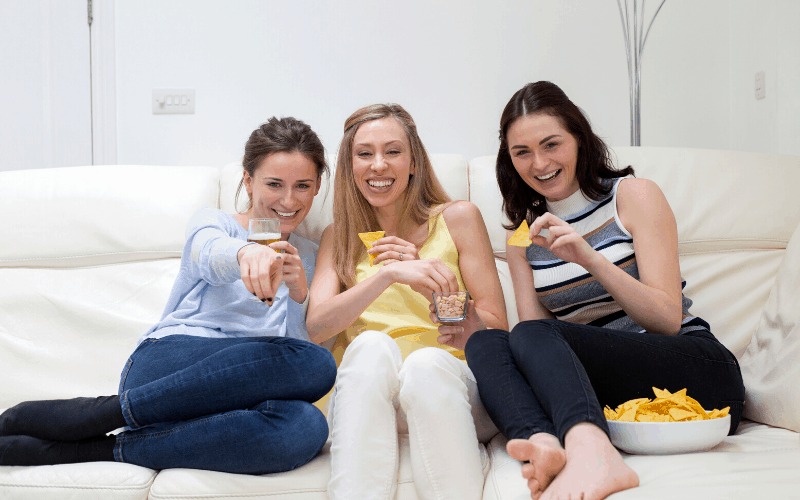Things To Do Instead of Watching the Super Bowl - Have a Girls Night