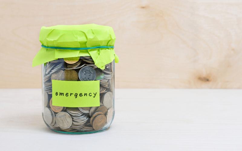 Not Having An Emergency Fund