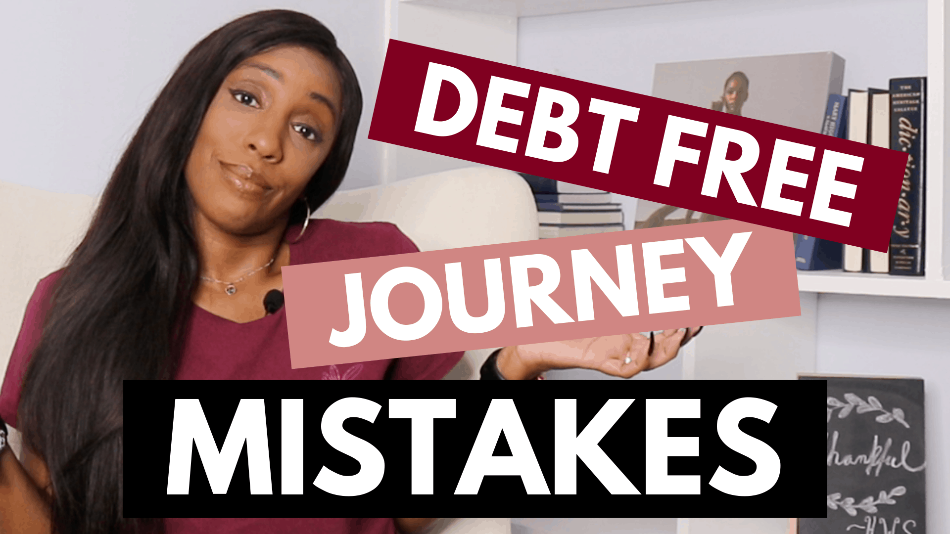 debt free journey mistakes
