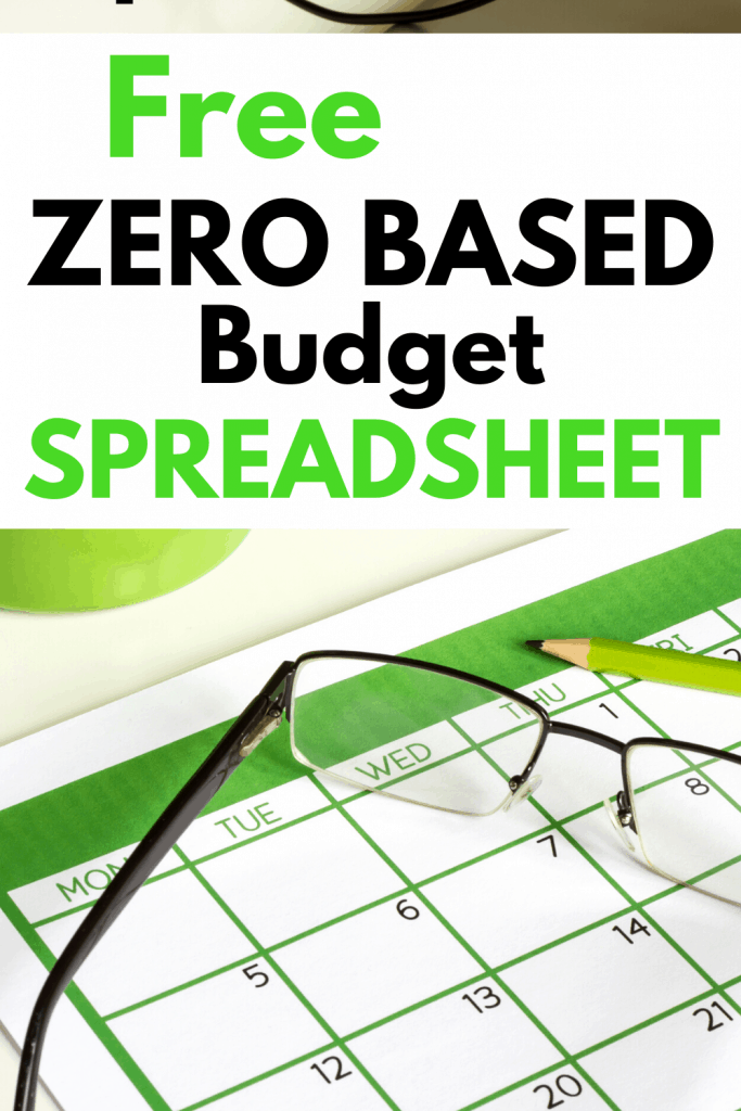 Zero based budget  - This zero based budget spreadsheet allows you to create a zero based budget or Dave Ramsey budget quickly and easily. Find out what is a zero based budget and why this is better then using a zero based budget printable. #zerobasedbudget #zerobasedbudgetspreadsheet