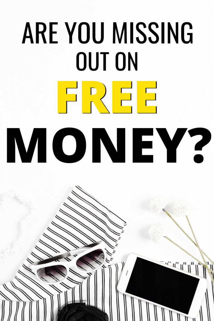 Free Money Hacks | Are you missing out on free money that is just waiting for you.  Discover legitimate and easy ways to get free money. #freemoneyhacks #freemoney