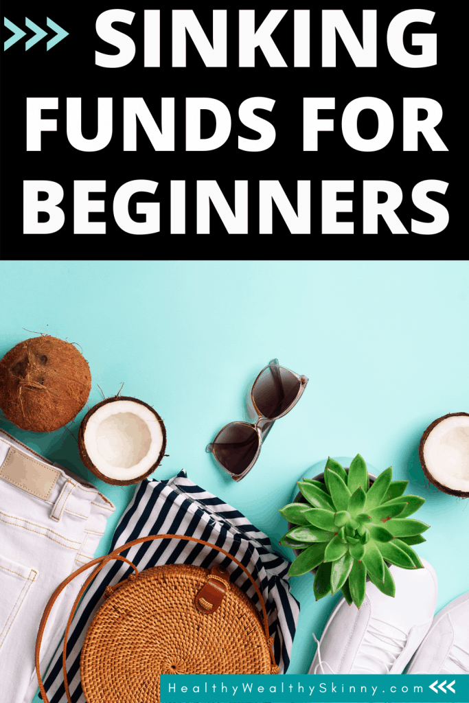 Sinking Funds for Beginners - A complete overview of sinking funds.  Discover what a sinking fund is and how it can help you with saving money and managing your money.  A valuable personal finance tip. #sinkingfunds #savingmoney #moneysavingtips