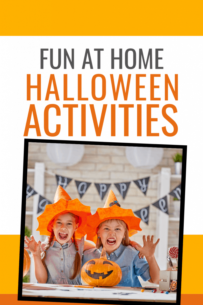 Just because we are social distancing doesn't mean Halloween is dead.  You can do tons of fun Halloween Activities at Home.  You can enjoy Halloween costumes, Halloween decorations, and Halloween candy all while being safe.  Get fun halloween ideas for kids, adults, and teens.  Halloween 2020 isn't dead! #Halloween #Halloweenideas #Halloweenideasforkids