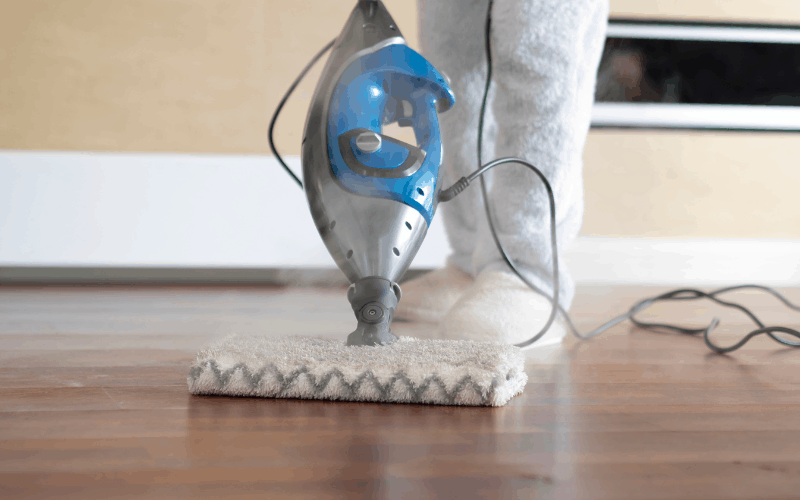 Save Money by investing in a Steam Mop.  Stop paying for expensive clearners.