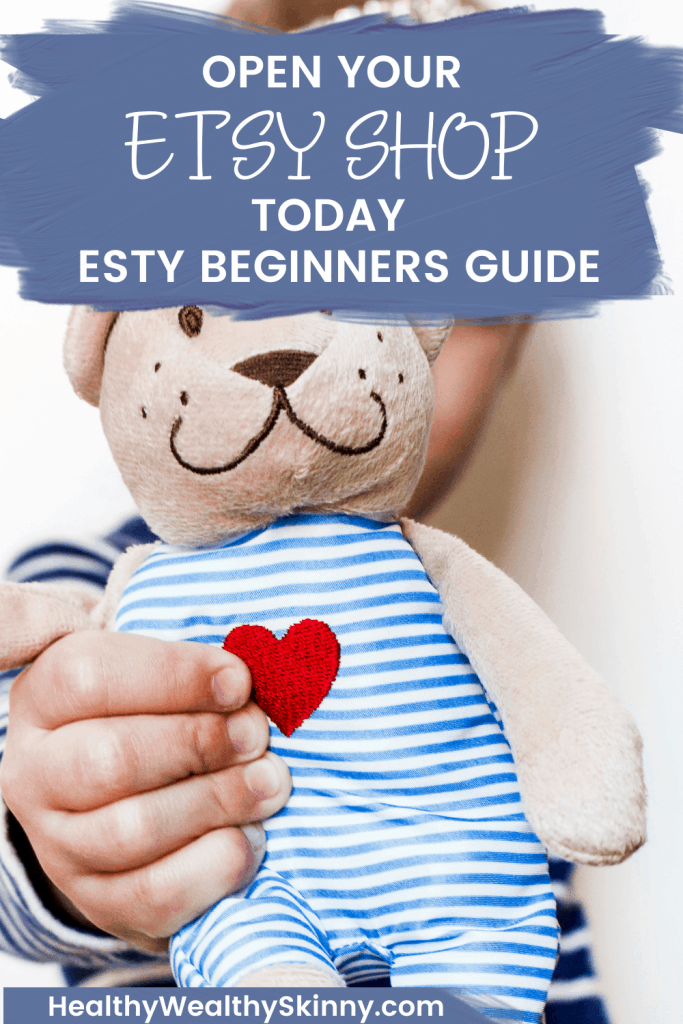 You won't believe how easy it is to start selling your handmade items on Etsy.  This Etsy Beginners Guide will walk you step by step through the process of opening up your Etsy Shop. Selling on Etsy for Beginners.